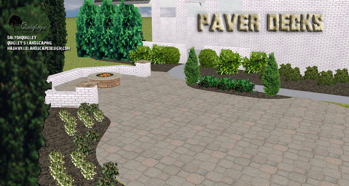 Designing-Paver-Decks-Nashville-TN, available in Franklin, Brentwood, Spring Hill, and Nolensville TN.
